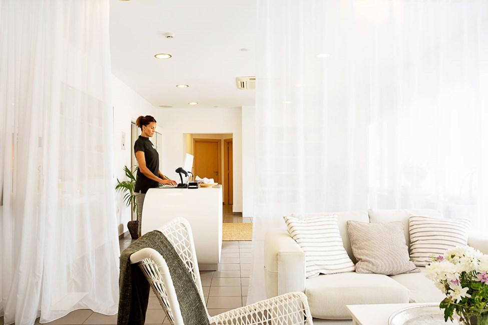 Hotellin spa-osastolla voit nauttia ihanista ja virkistävistä hoidoista