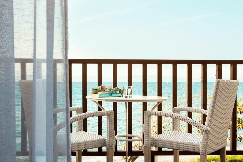 Classic Suite, parveke ja merinäköala