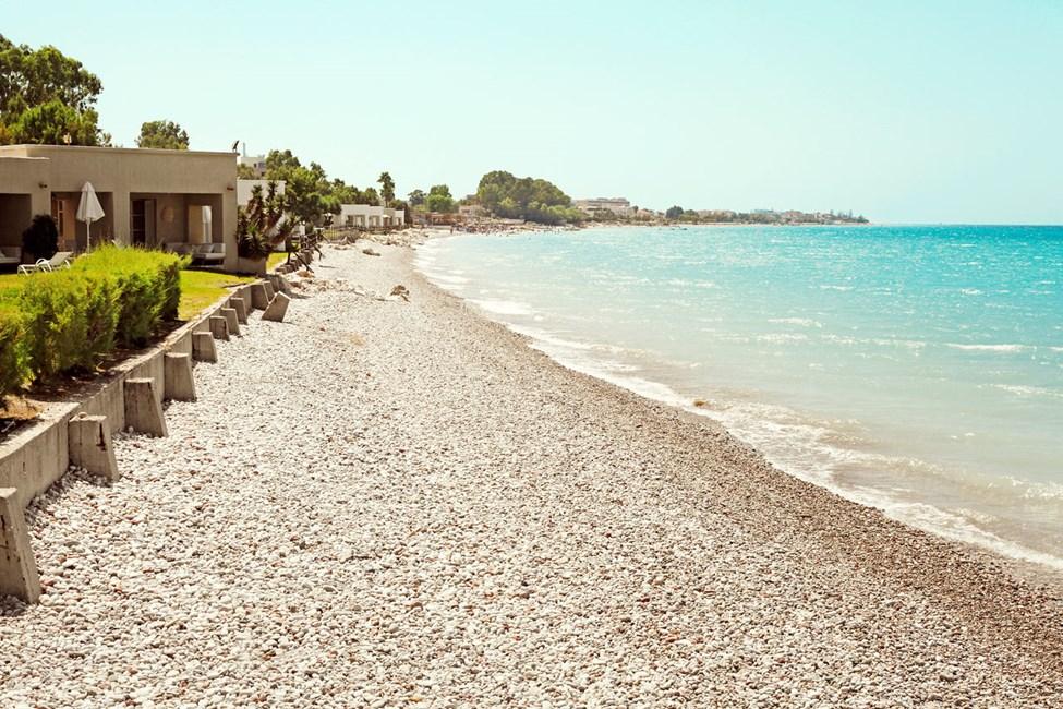 Sunprime Miramare Beachin edustalla oleva ranta