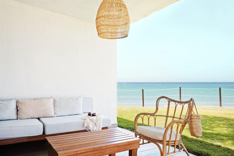 Prime Lounge Suite, 2 huonetta, terassi ja merinäköala