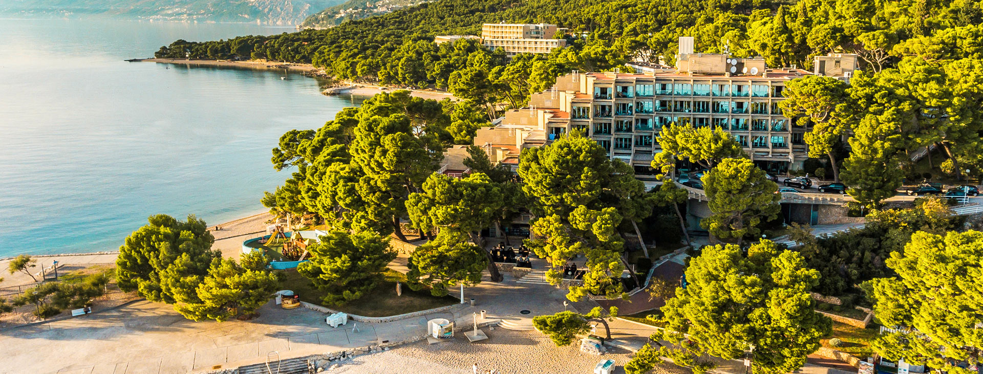 Bluesun Soline, Brela, Makarska Riviera, Kroatia