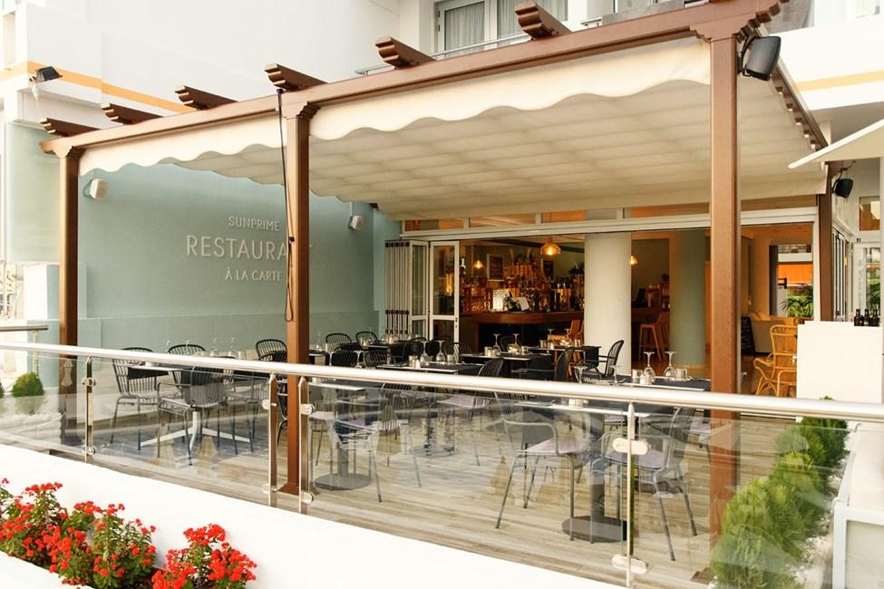 À la carte -ravintolassa voit valita haluatko nauttia tapaksia vai grillattua lihaa