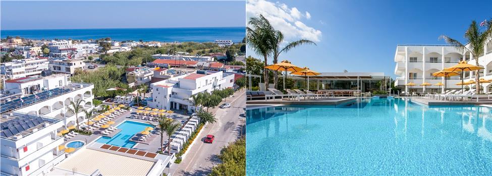 Orion Hotel, Faliraki, Rodos, Kreikka