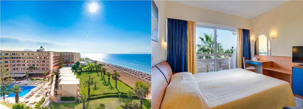Sun Beach Resort Hotel, Rodoksen länsirannikko, Rodos, Kreikka