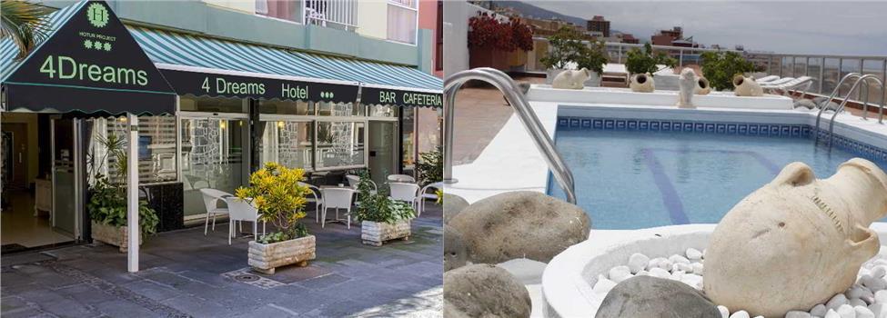 4Dreams Hotel, Puerto de la Cruz, Teneriffa, Kanariansaaret