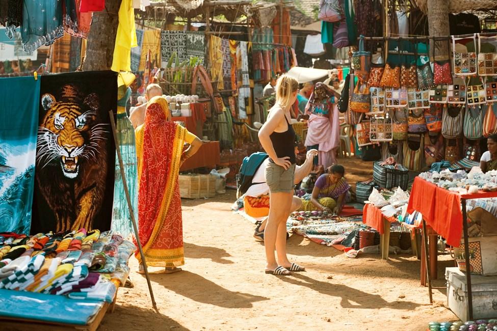 Anjulan markkinat Pohjois-Goassa