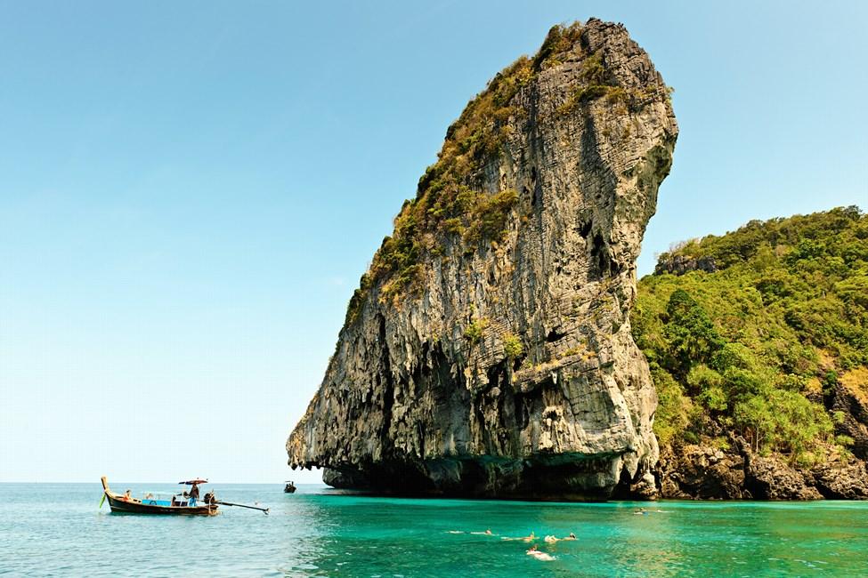 Maya Bay, Koh Phi Phi, Thaimaa