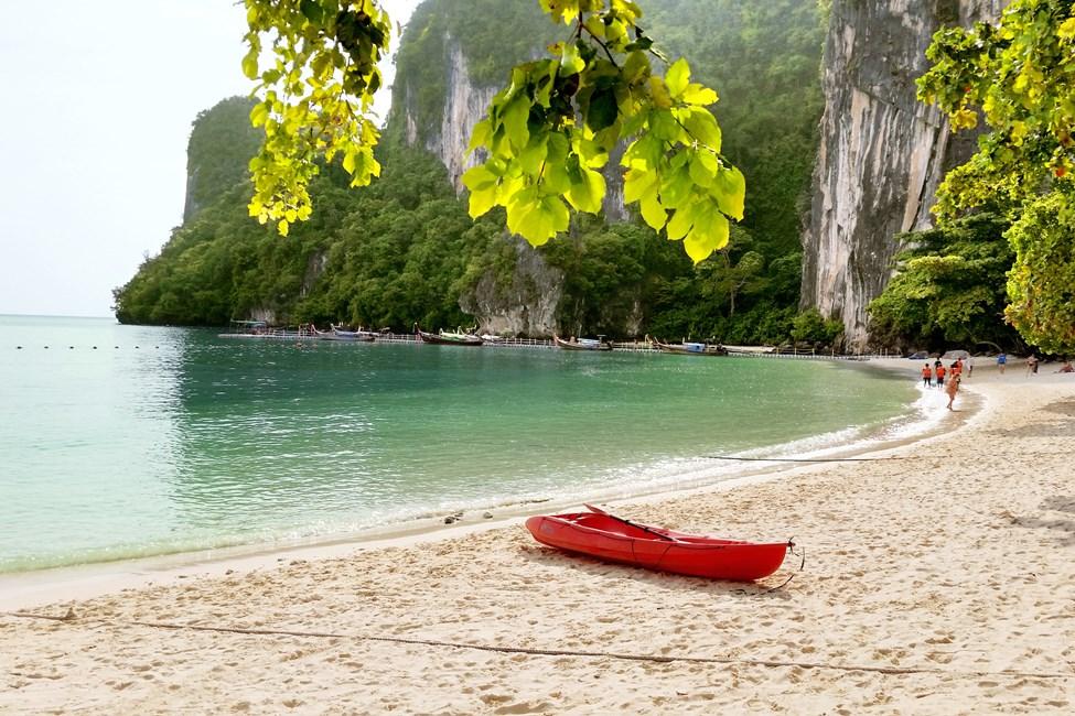 Hong Island/Hong Lagoon, veneretki Klong Muangista tai Ao Nangista