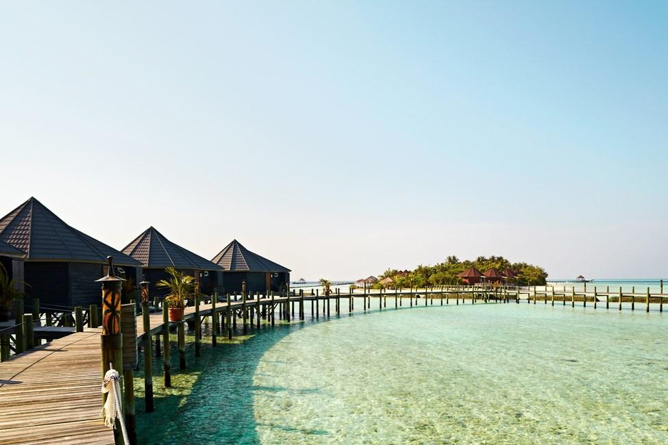 Komandoo-saari Malediiveilla