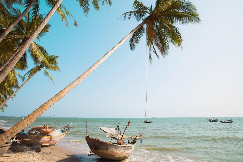 Mui Ne -ranta Phan Thietin ulkopuolella