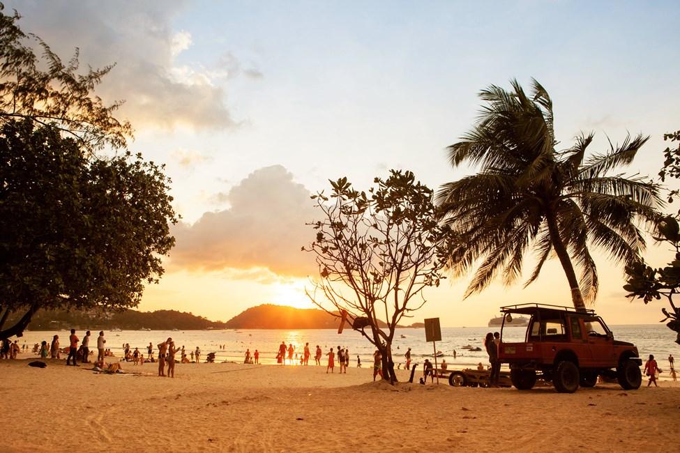 Patong Beach, Phuket, Thaimaa