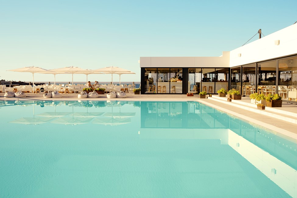Ocean Beach Club – Gran Canaria -hotellin viehättävä allasalue