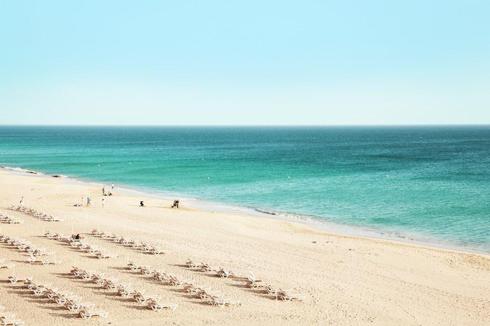 Sotoventon ranta lähellä Costa Calmaa, Fuerteventuralla