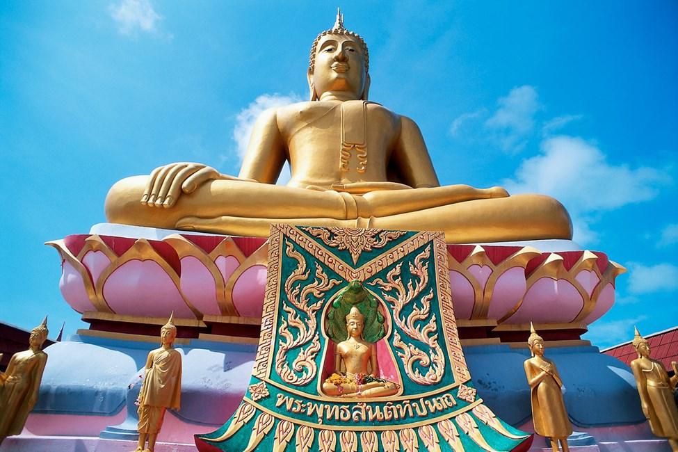 Wat Phra Yai on Koh Samuin suurin buddhalainen temppeli. Kannattaa käydä katsomassa.