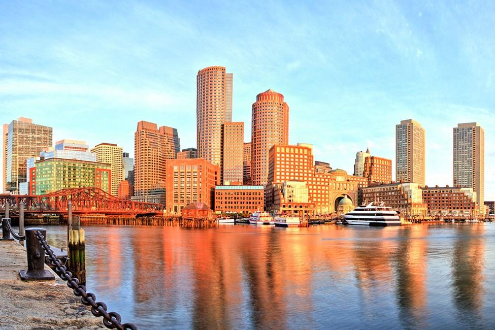 Bostonin satama ja finanssialue