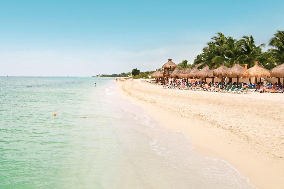 Occidental Grand Cozumelin edessä oleva ranta