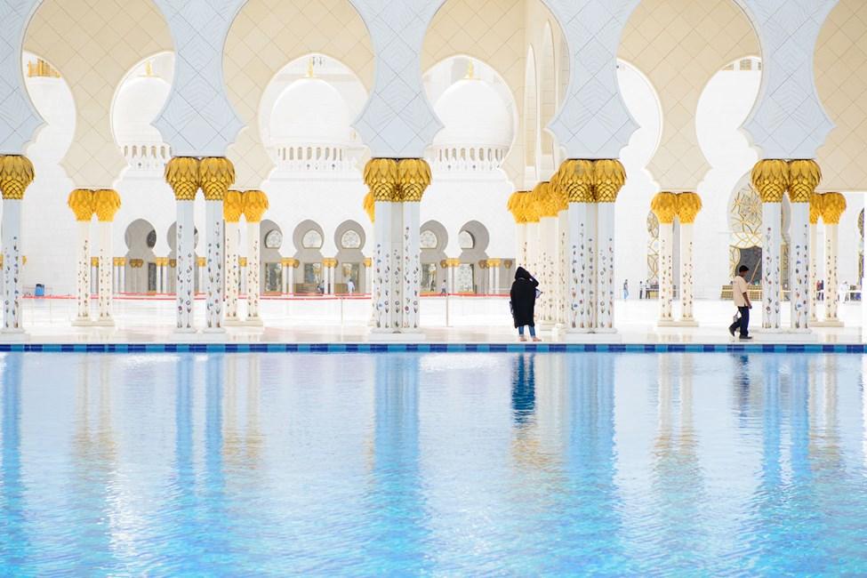 Grand Mosque Abu Dhabissa