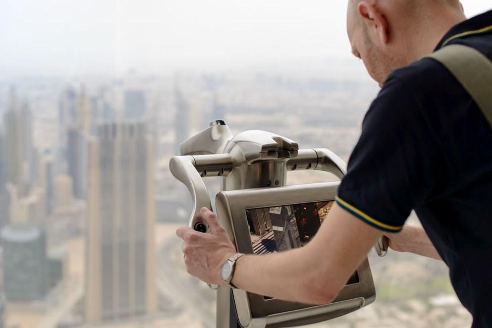 Näköala Burj Khalifasta, Downtown Dubai