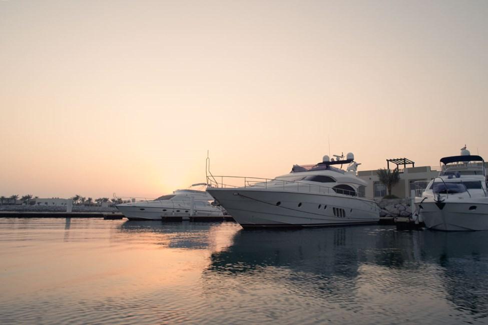 Kaunis Al Hamra Marina -satama