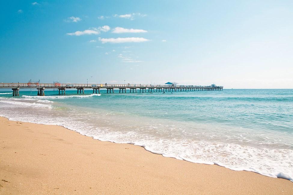 Rantaelämää Lauderdale by the Sean alueella