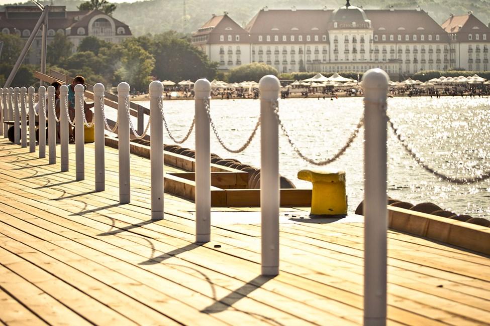 Viihtyisiä hotelleja rannalla