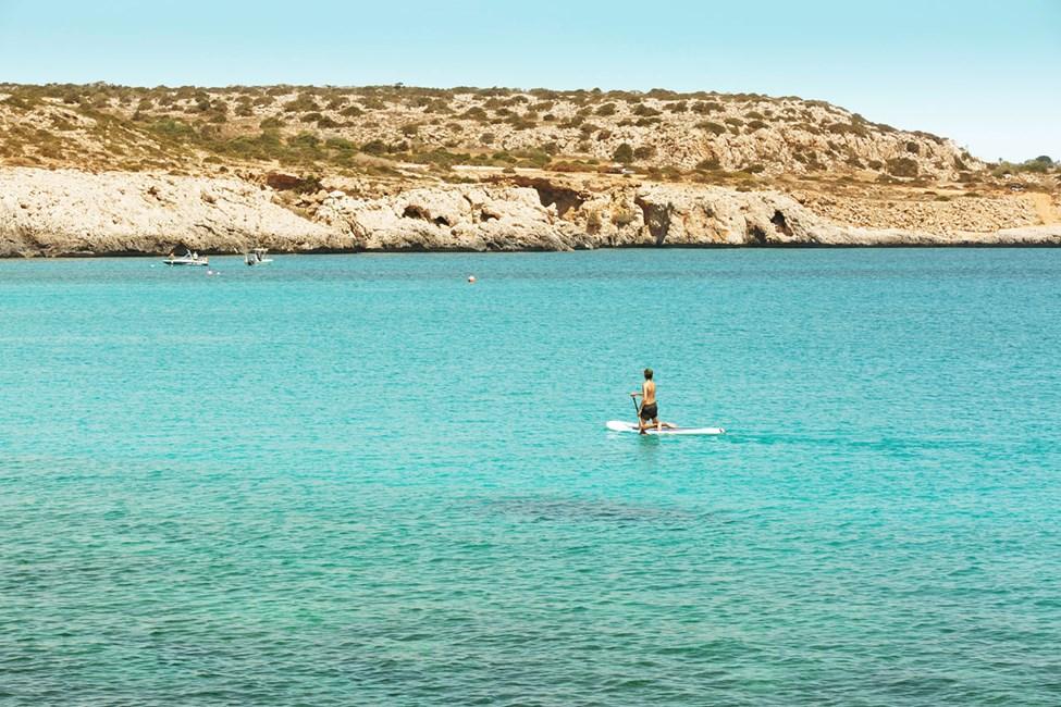 Blue Lagoon, Cape Greco