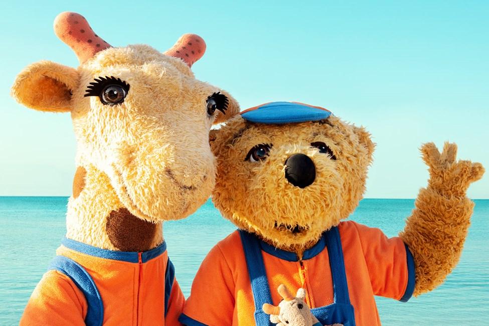 Myös Lollo & Bernie viihtyvät Sunwing Arguineguín Seafrontissa