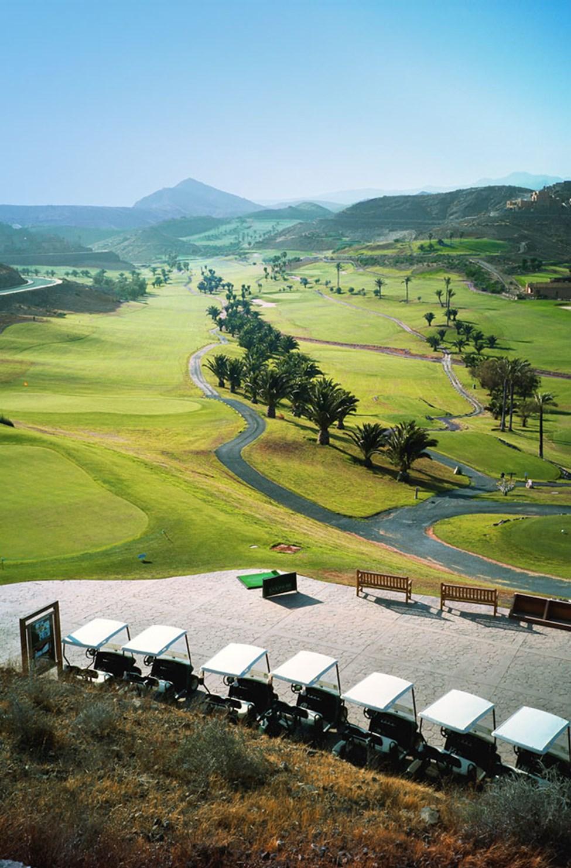 Golfkenttä Anfissa, n. 10-15 minuutin ajomatka Sunwing Arguineguín.