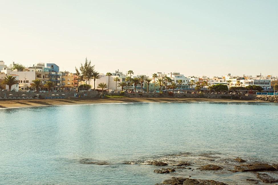 Playa de las Maranuelasin ranta