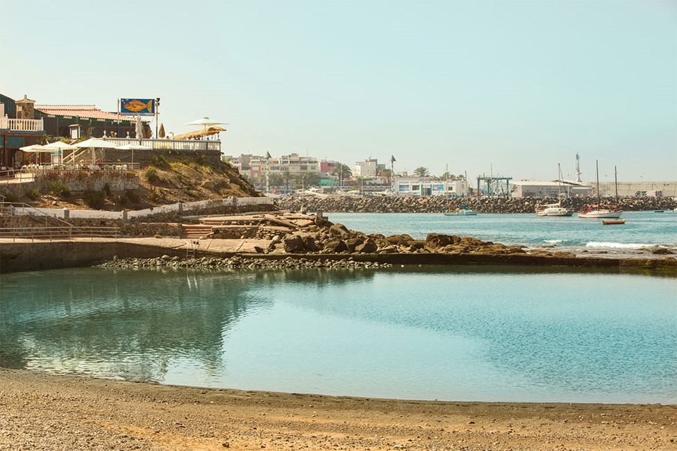 Playa de la Lajilla -ranta