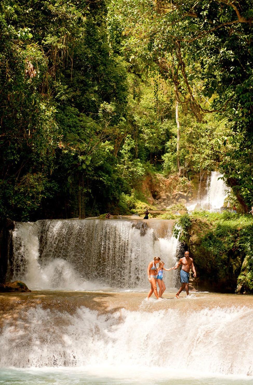 YS Falls - yksi Jamaican mahtavimmista vesiputouksista