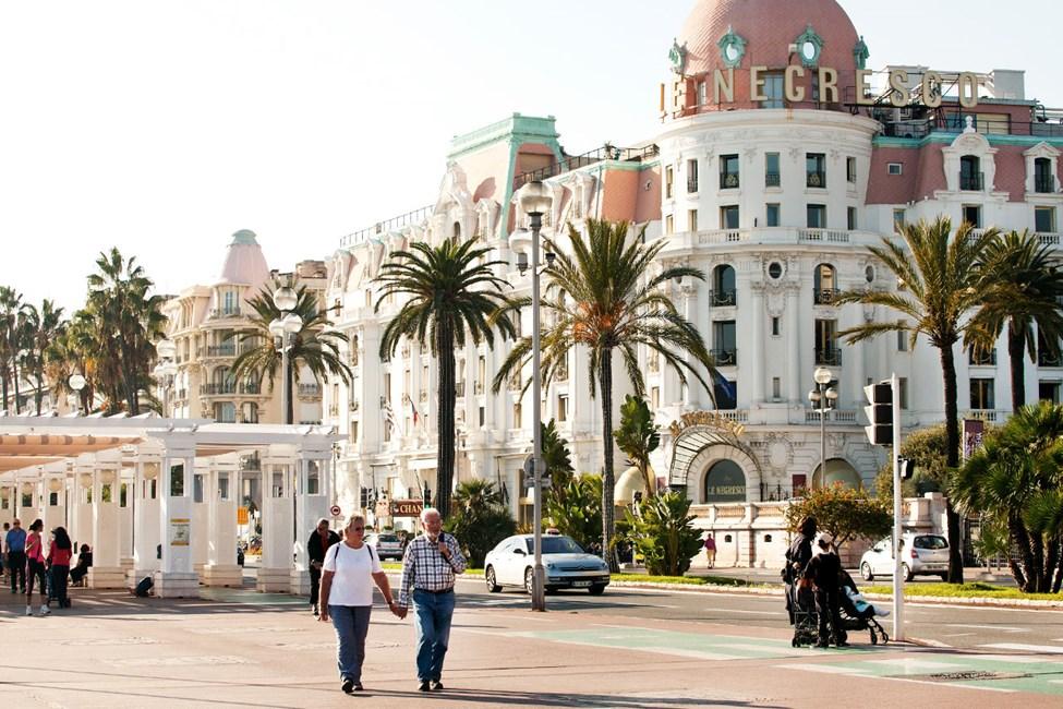 Hotel Negresco Promenade des Anglais -kadun varrella