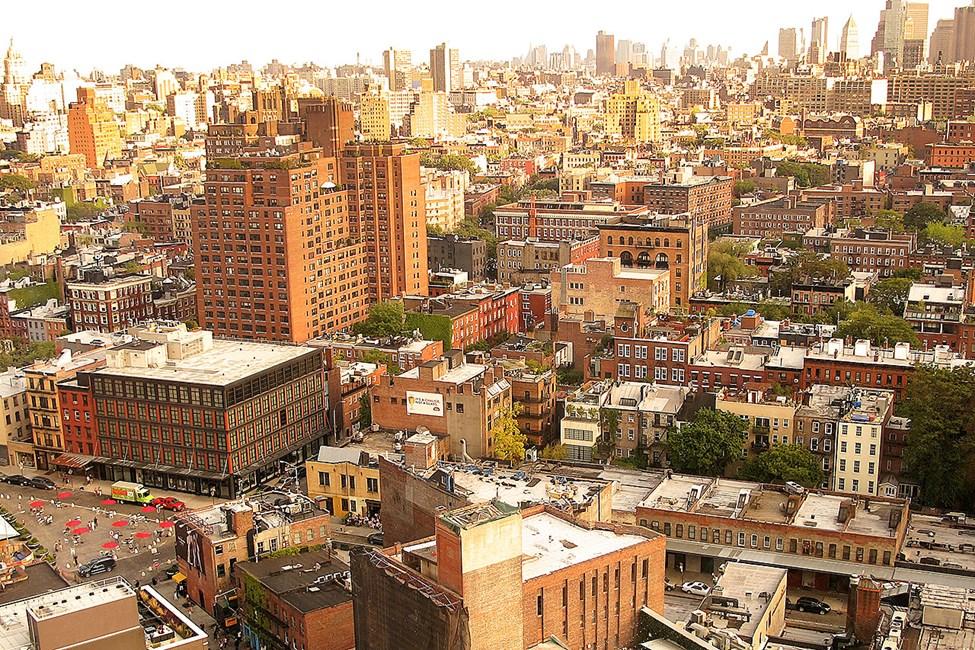 New Yorkin houkuttelevia maisemia