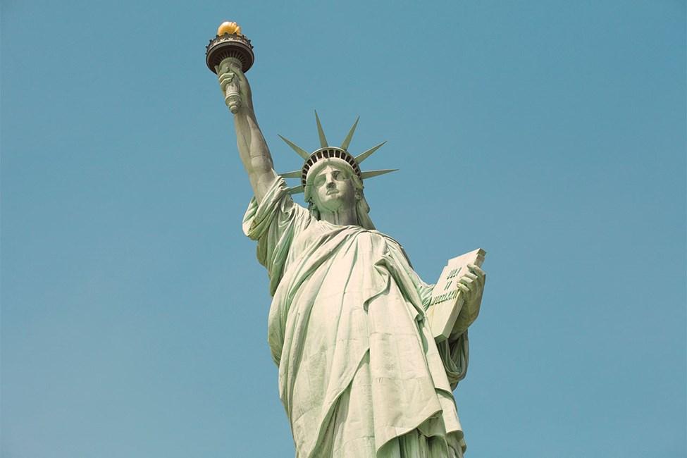 Vapaudenpatsas, Liberty Island, Manhattan