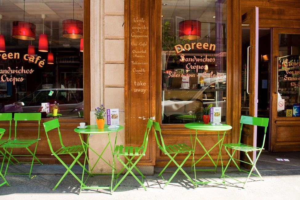 Doreen café, Rue du Caumartin