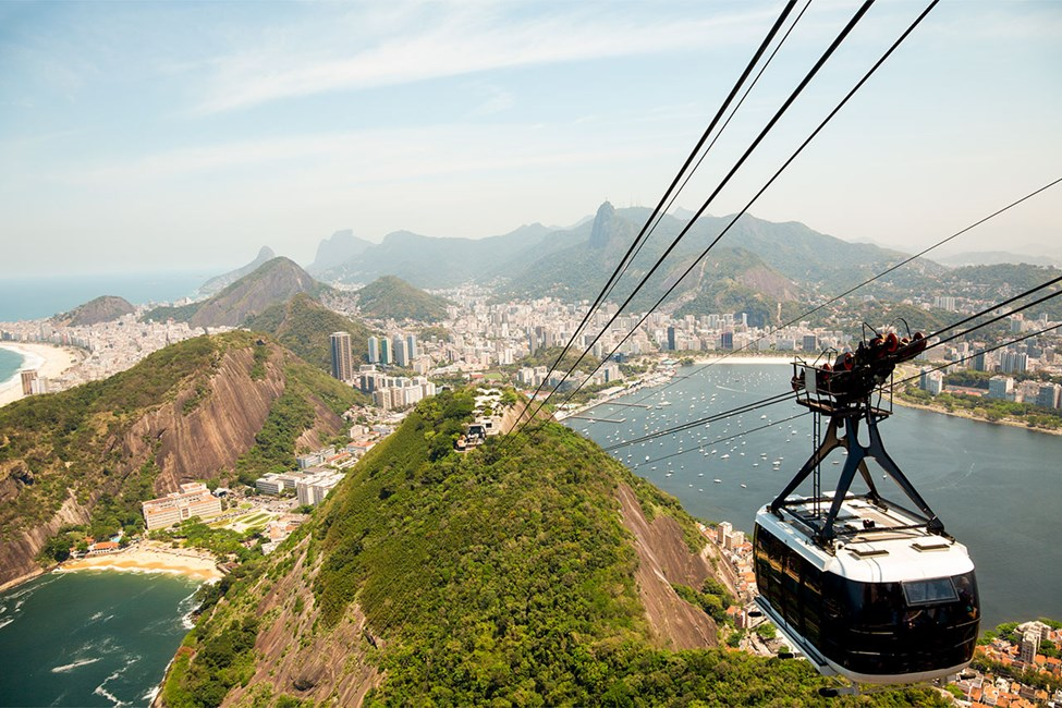 Sokeritoppavuori (Sugarloaf Mountain) Rio de Janeirossa