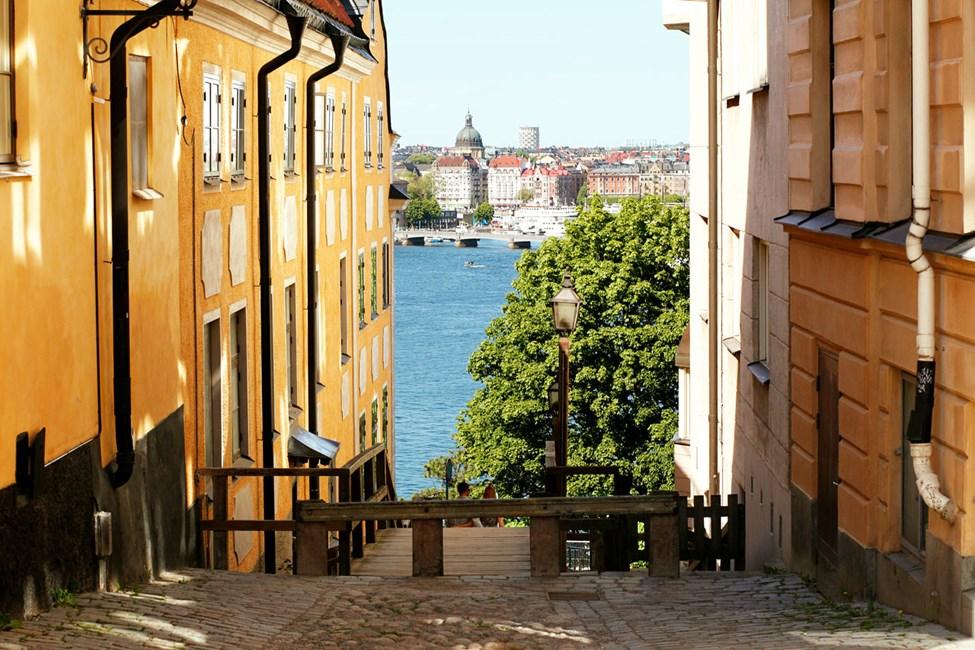 Katarina kyrkobacke, Södermalm