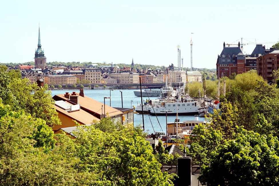 Näkymä Västerbron-sillalta
