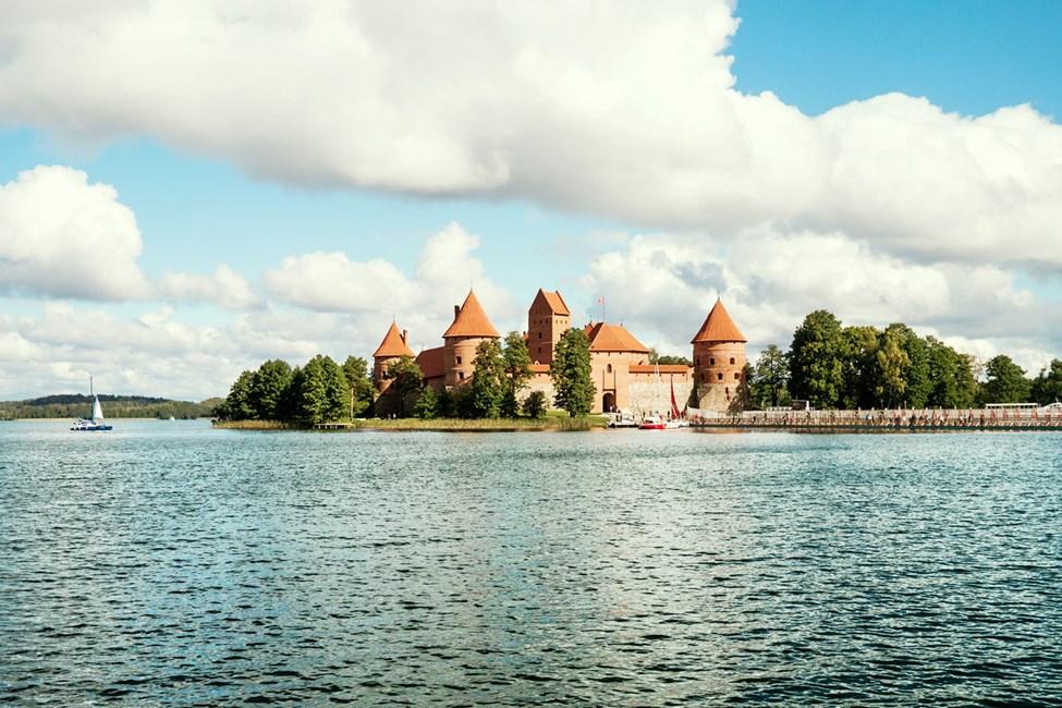 Trakain linna, noin 27 km päässä Vilnasta