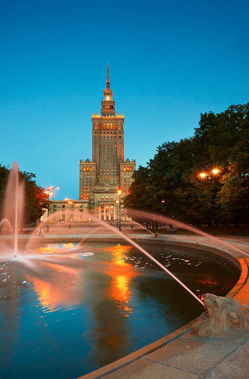 Kulttuuripalatsi Varsovassa