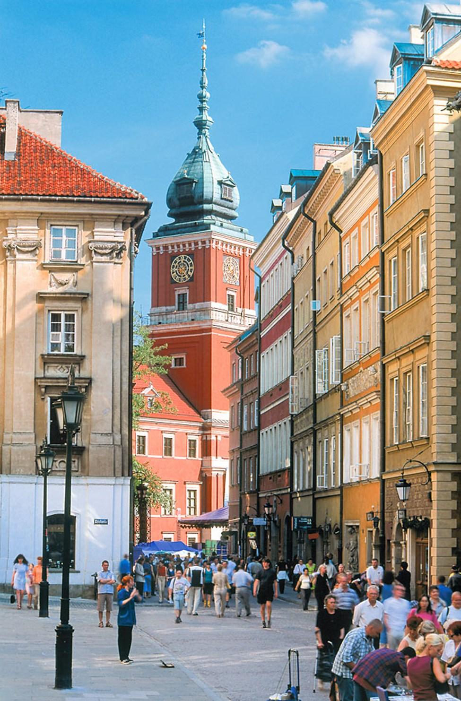 Varsovan Vanhankaupunki - vanhinta keskusta-aluetta