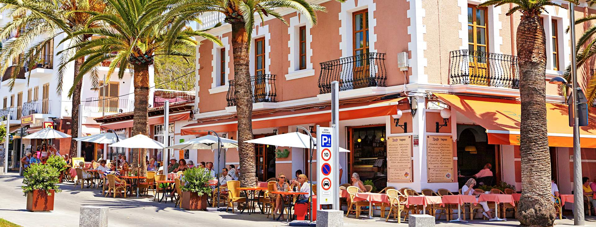 Tjäreborgin kautta joustavasti reittilennoilla Santa Eulaliaan, Ibizalle
