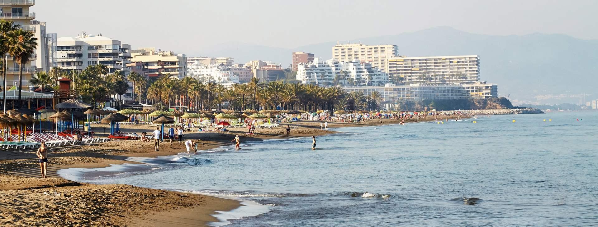 Matkat Benalmadenaan, Costa del Solille Espanjaan