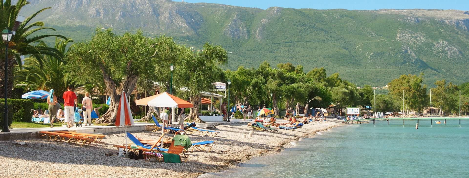 Dassia - rauhallinen lomakohde Kreikassa, Korfun saarella