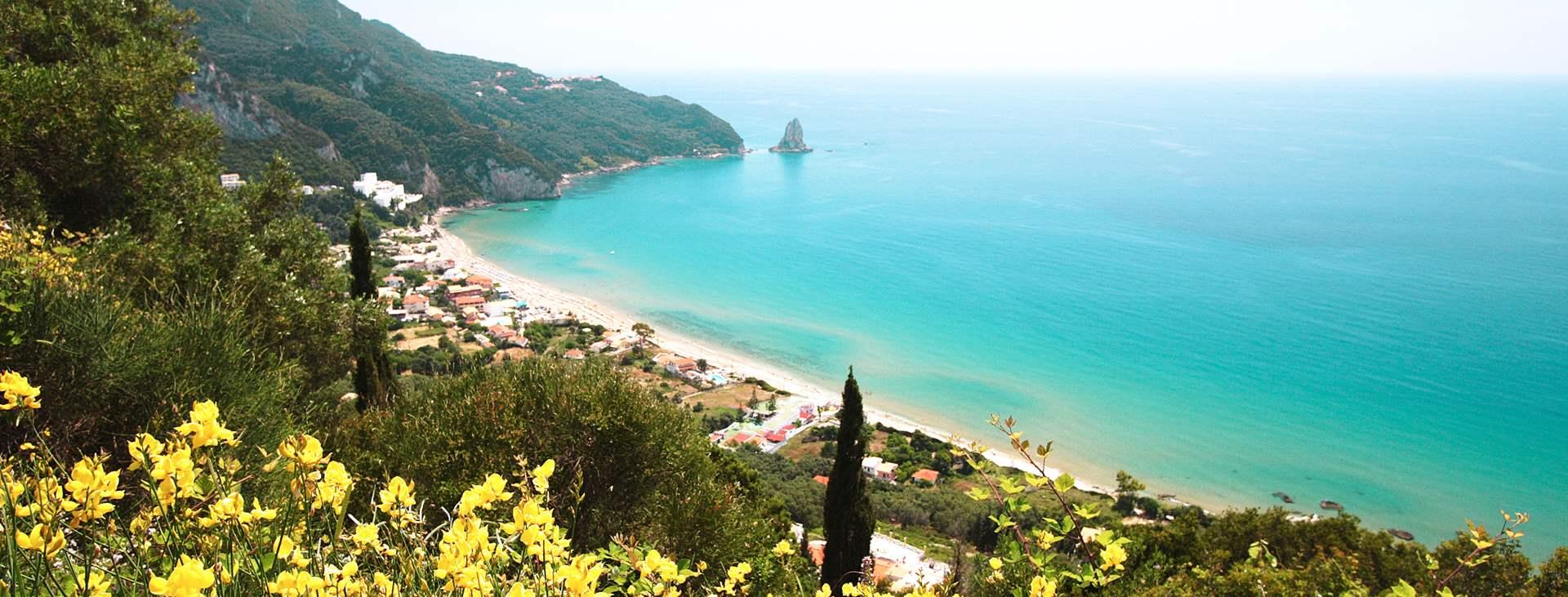 Matkat Agios Gordiokseen Korfulle
