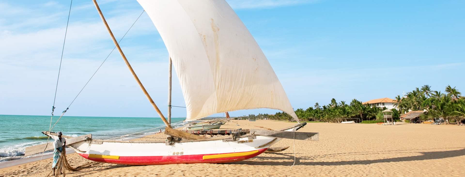 Varaa rentouttava loma Negombossa, Sri Lankalla