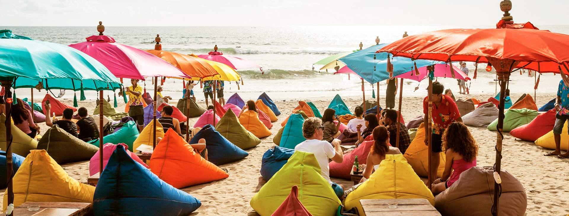 Kuta Beach on saaren monipuolisin lomakohde