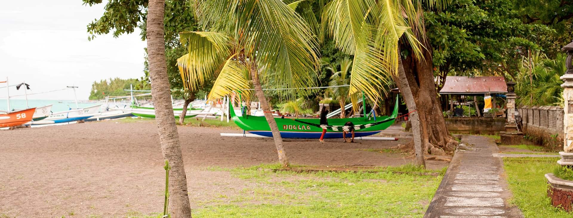 Lovina Beach sijaitsee Balin pohjoisrannikolla