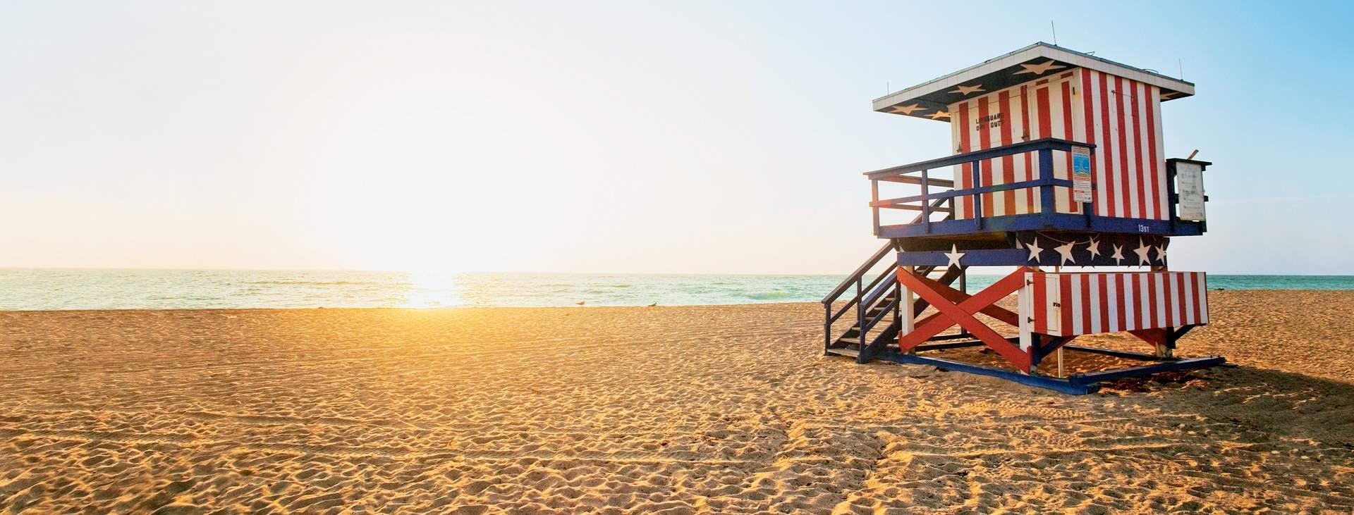 Varaa Tjärebogin matka Miami Beachille Florisaan ja koe USA