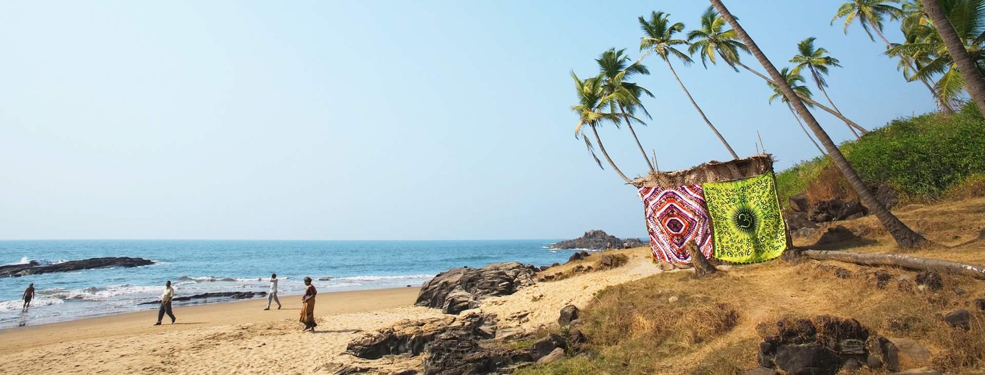 Lähde Tjäreborgin kautta Pohjois-Goaan, Intiaan